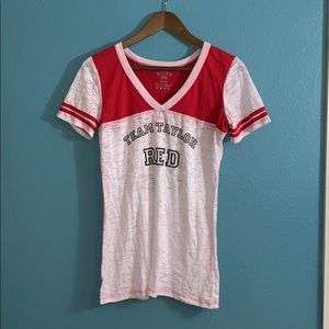 Taylor Swift Red Tour Burnout Jersey Tee D